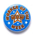 Worker of the Week (WOW) School Badge